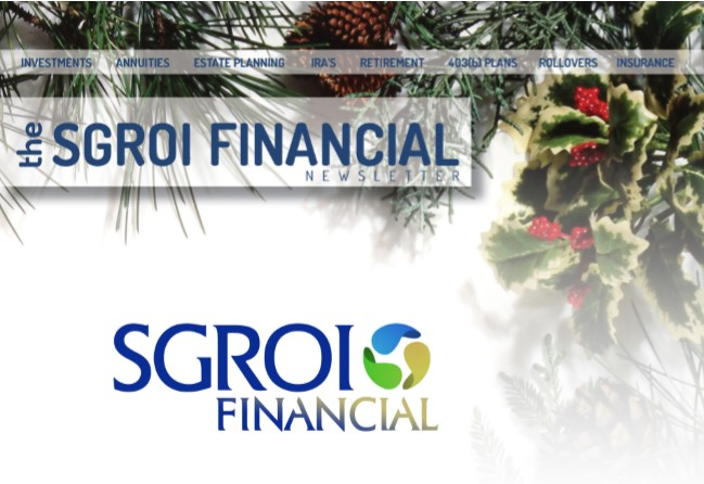 The Sgroi Financial Newsletter